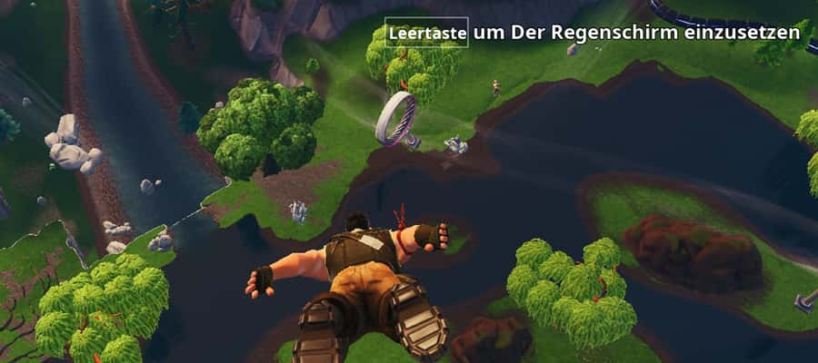 In Fortnite schneller landen