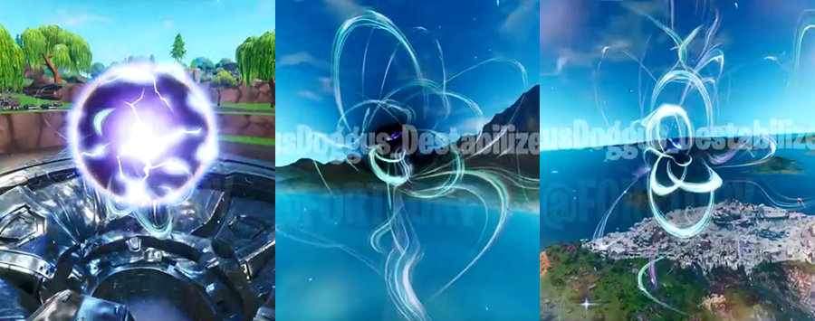 3 Stufen Loot Lake Nexus Orb