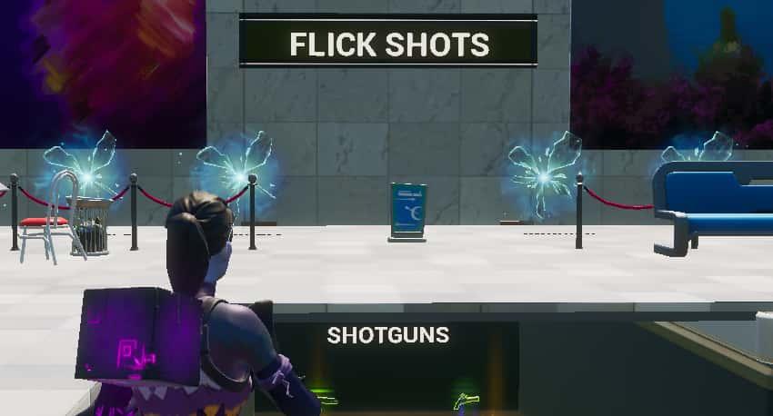 Fortnite Flick Shot Map