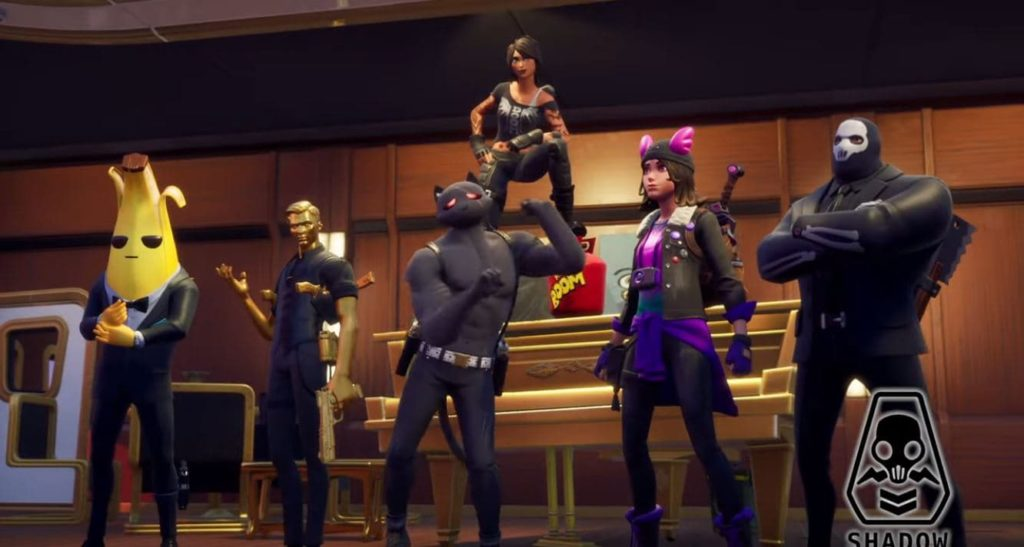 Fortnite Season 2 Team Shadow