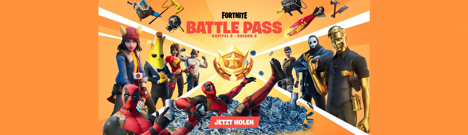fortnite season 2 battle pass