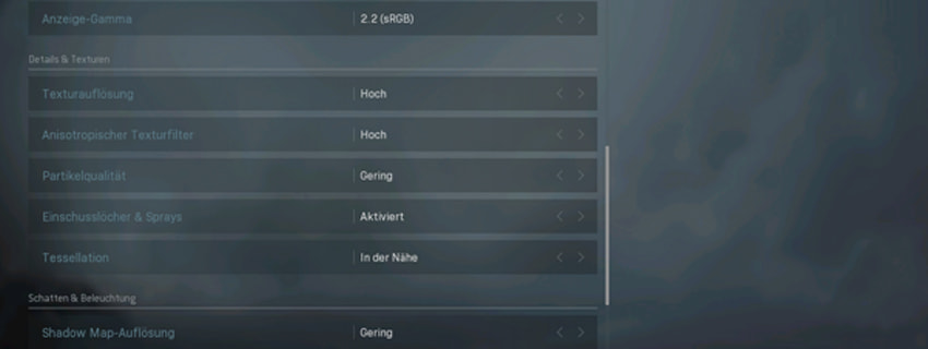 cod warzone grafikeinstellungen details und texturen